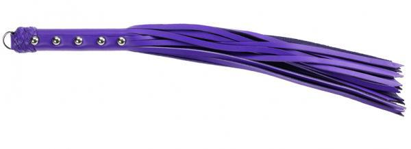 Crave 20 inch Strap Whip - Purple