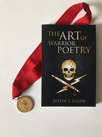 "2019 Gannon Award Winner ""The Art Of Warrior Poetry"" Paperback Edition"