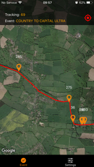 The Northants Ultra 35 (Shires and Spires). 16th May 2020. Tracker Hire