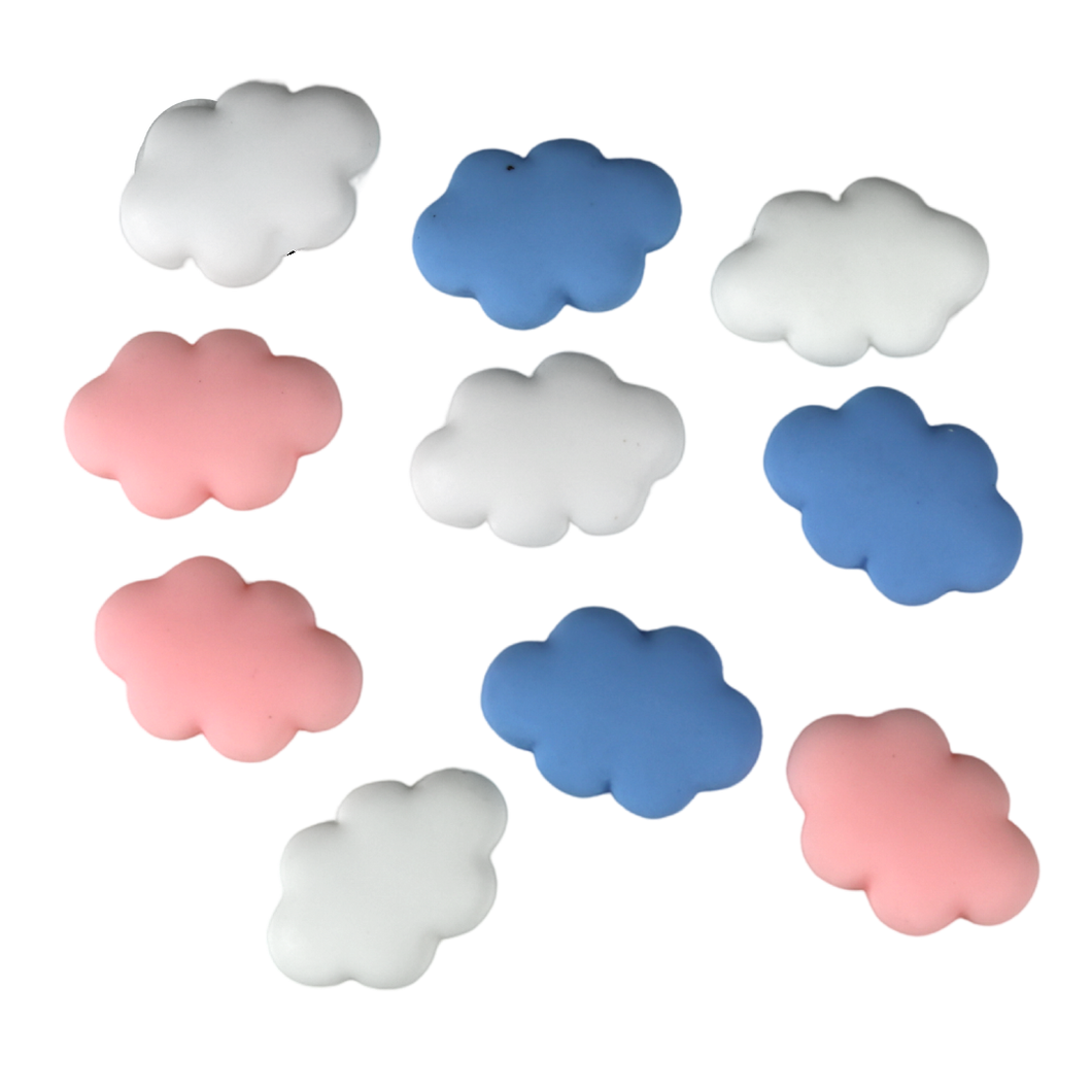 10 Assorted Cloud Charms