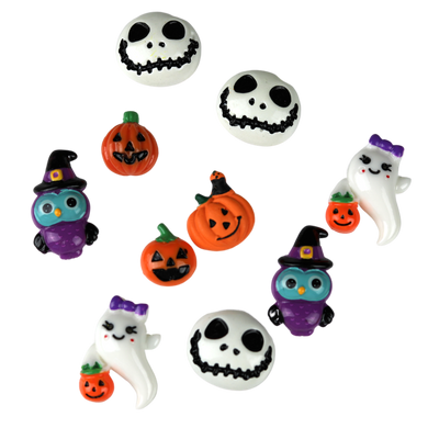 10 Assorted Halloween Charms