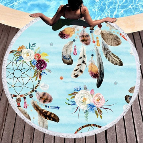 Dream Catcher Beach Towel