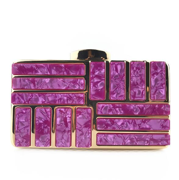 Luxury Acrylic Decoration Clutches