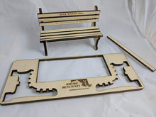 Load image into Gallery viewer, Baltimore Bench Kit - The greatest gift in America!  Miniature Wooden Replica