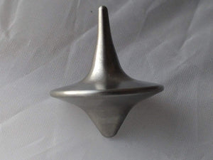ShadowSpin Stainless Steel Shiny Precision Machined Spinning Top