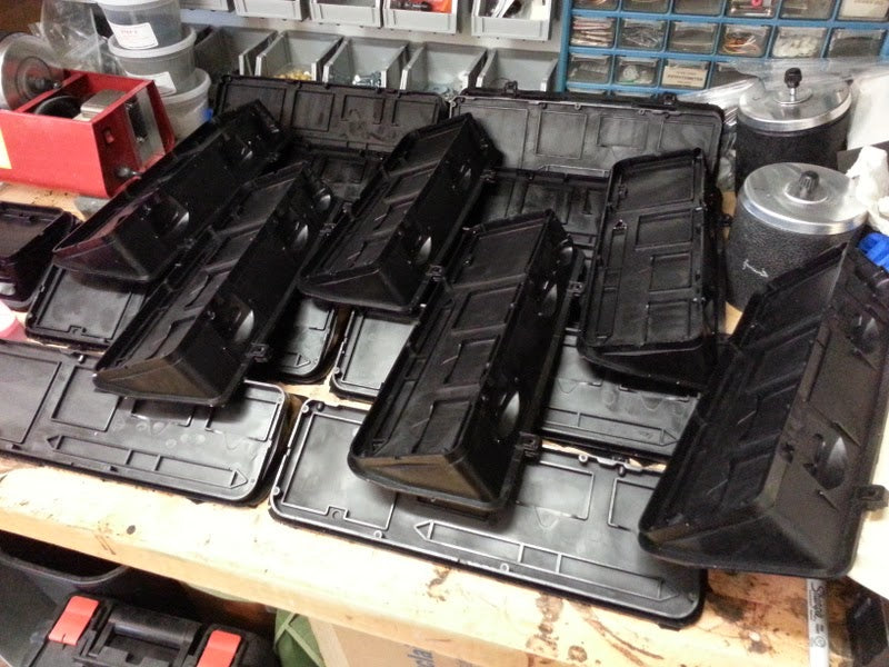 Cast volvo panel replicas for HiC Build
