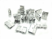 "Load image into Gallery viewer, Aluminum ""u-clip"" heatsink greeblies and screws for HiC panels - set of 20"