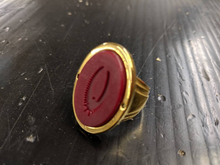 Load image into Gallery viewer, Duke Leto's signet ring from Dune 1984 replica