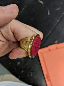Duke Leto's signet ring from Dune 1984 replica