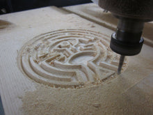 Load image into Gallery viewer, Westworld Map maze puzzle wood engraving