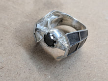 Load image into Gallery viewer, TIE Fighter Advanced Ring Squadron Imperial Vader Sterling Silver Ring