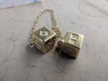 Load image into Gallery viewer, Stainless Steel Smuggler's Golden Dice - Gold Plated Stainless Steel Dice