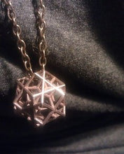 Load image into Gallery viewer, Escher Tri-cube Pendant