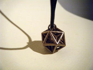 Icosohedron with stellated dodecahedron
