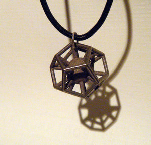 Dodecahedron with captured sphere