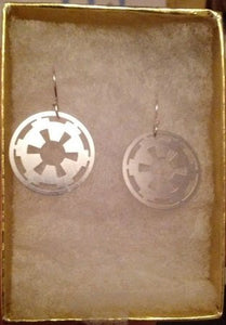 Imperial Cog Star Wars earrings