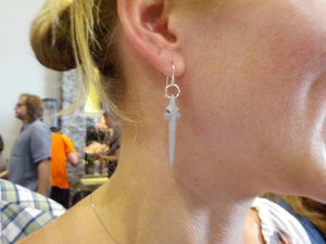 Cosmos earrings - Neil deGrass Tyson's Starship of the Imagination earrings