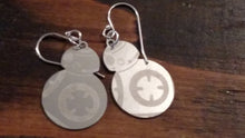 Load image into Gallery viewer, Stainless steel BB-8 earrings