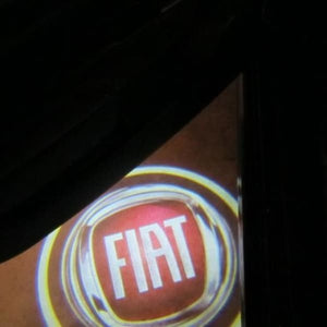 Luxus : LED logo ( Pack de 2 ) Fiat