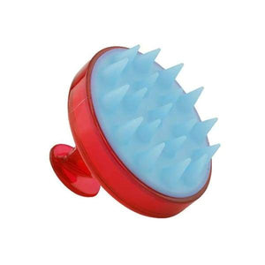 Siliscrub - Brosse À Shampoing Originale En Silicone - Rouge