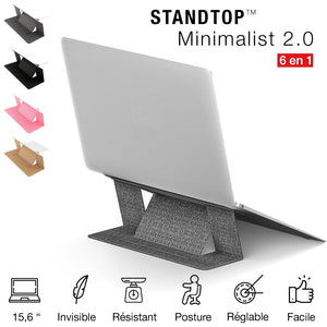 StandTop™ - Support invisible pour ordinateur