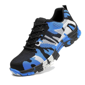 Ultraxpro: Chaussures De Protection Indestructible - Camouflage Bleu / 37
