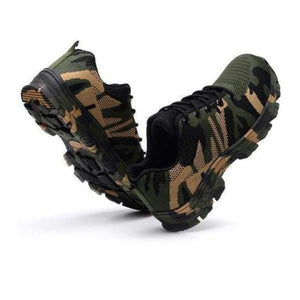 ULTRAXPRO : Chaussures De Protection Indestructible - Camouflage Vert / 37