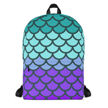 Load image into Gallery viewer, Shimmer Scales Backpack