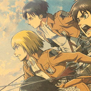 Attack on Titan Main Cast