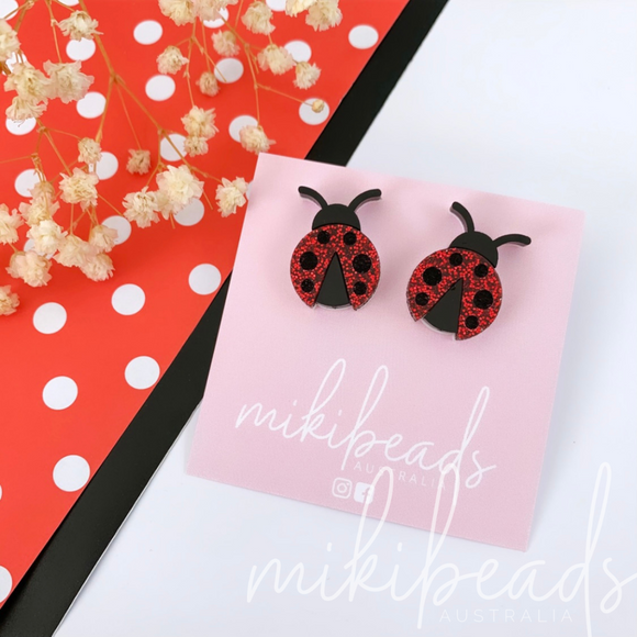 Little Lady Bug Studs