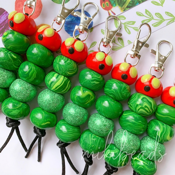 Mr. Caterpillar Keyring