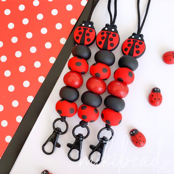 Polly the Lady Bug Lanyard (Limited Edition)