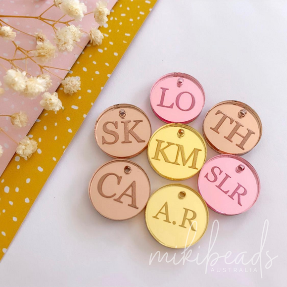 Personalised Initial Charm