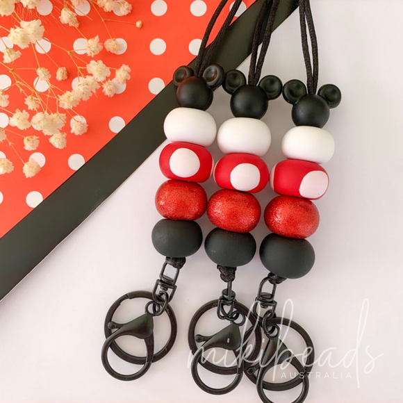 Red Minnie Lanyard (Restock Nov 1)