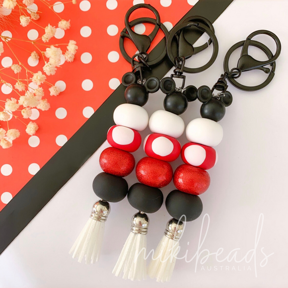 Red Minnie Keyring (Restock Nov 1)