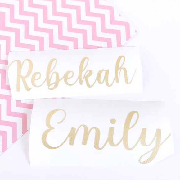 Personalised Name Label