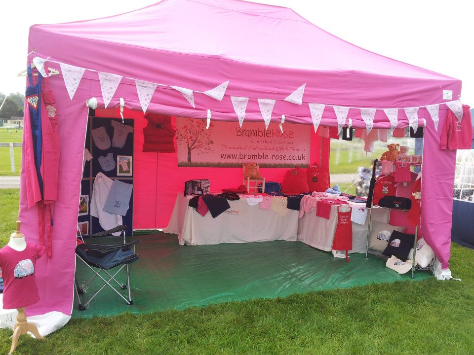 3M x 4.5M Professional Gazebo in Pink SALE!!