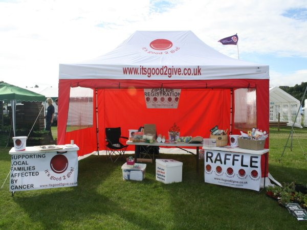 Charity Pop Up Gazebo