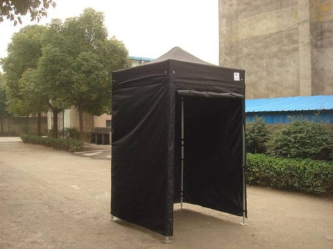 1.5m x 1.5m black pop up gazebo