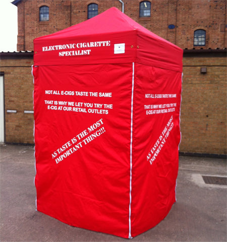 1.5m x 1.5m printed pop up gazebo