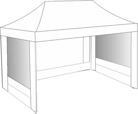 2M x 3M White Pop Up Gazebo