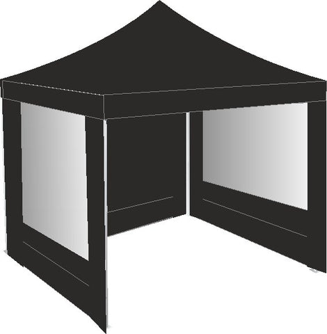 2.5M x 2.5M Black Pop Up Gazebo