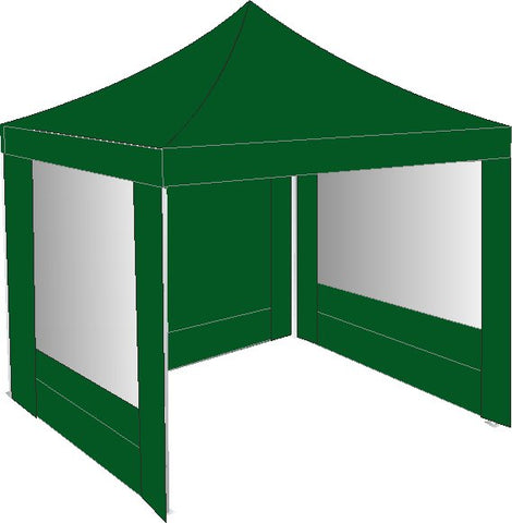 2m x 2m pop up gazebo green