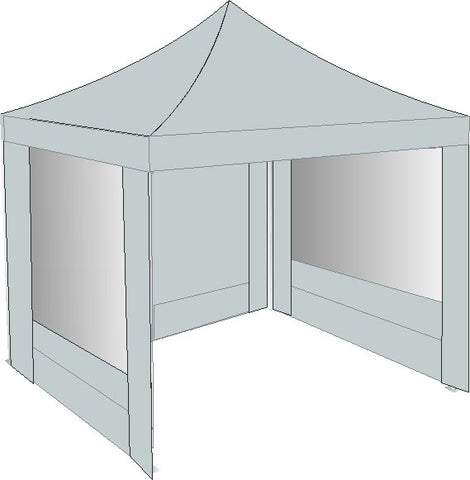 3M x 3M Grey Pop Up Gazebo