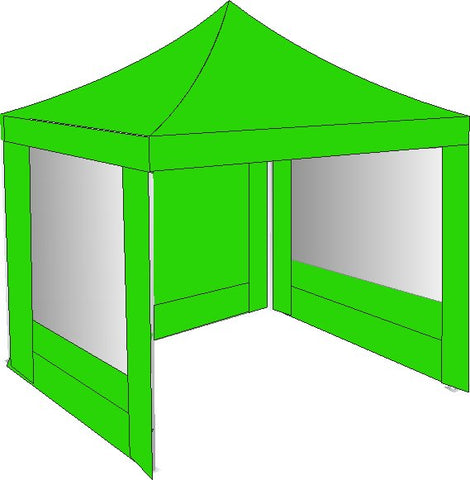 2m x 2m lime green pop up gazebo