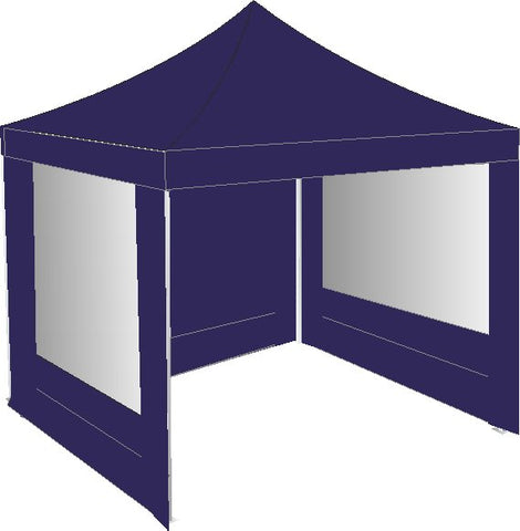3M x 3M Navy Blue Gazebo