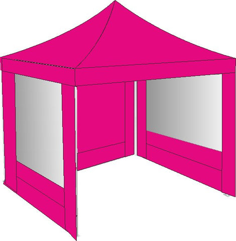 3M x 3M Pink Pop Up Gazebo