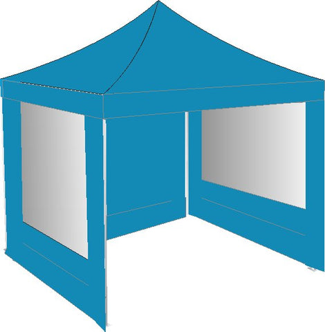 3M x 3M Sky Blue Pop Up Gazebo
