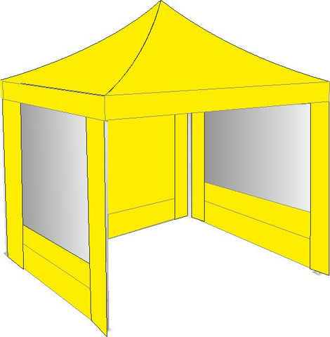 3M x 3M Yellow Gazebo