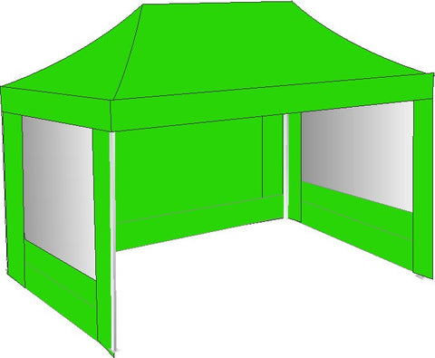 3M x 4.5M Lime Green Pop Up Gazebo